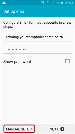 Android Email 1