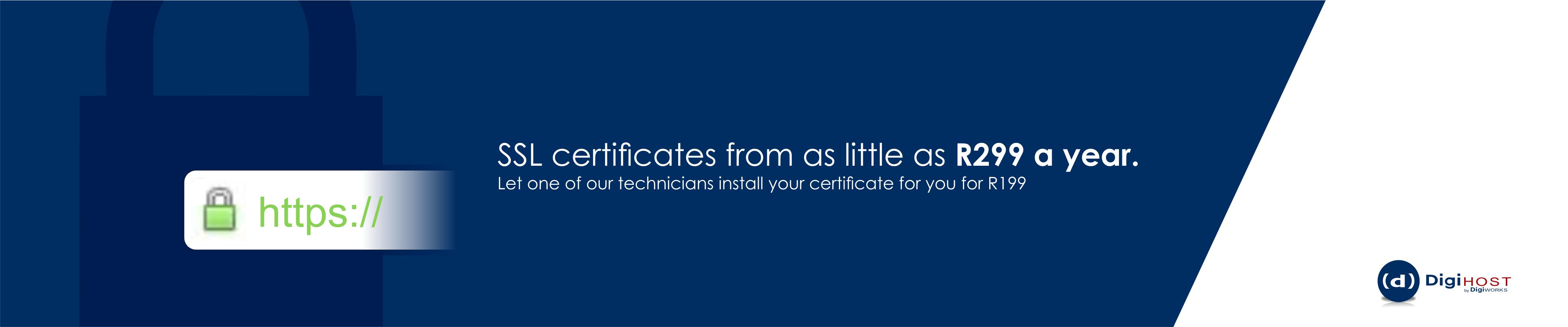 DigiHost SSL certificates